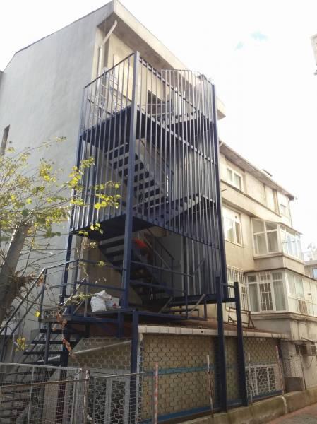İstanbul Yangın Merdivenleri