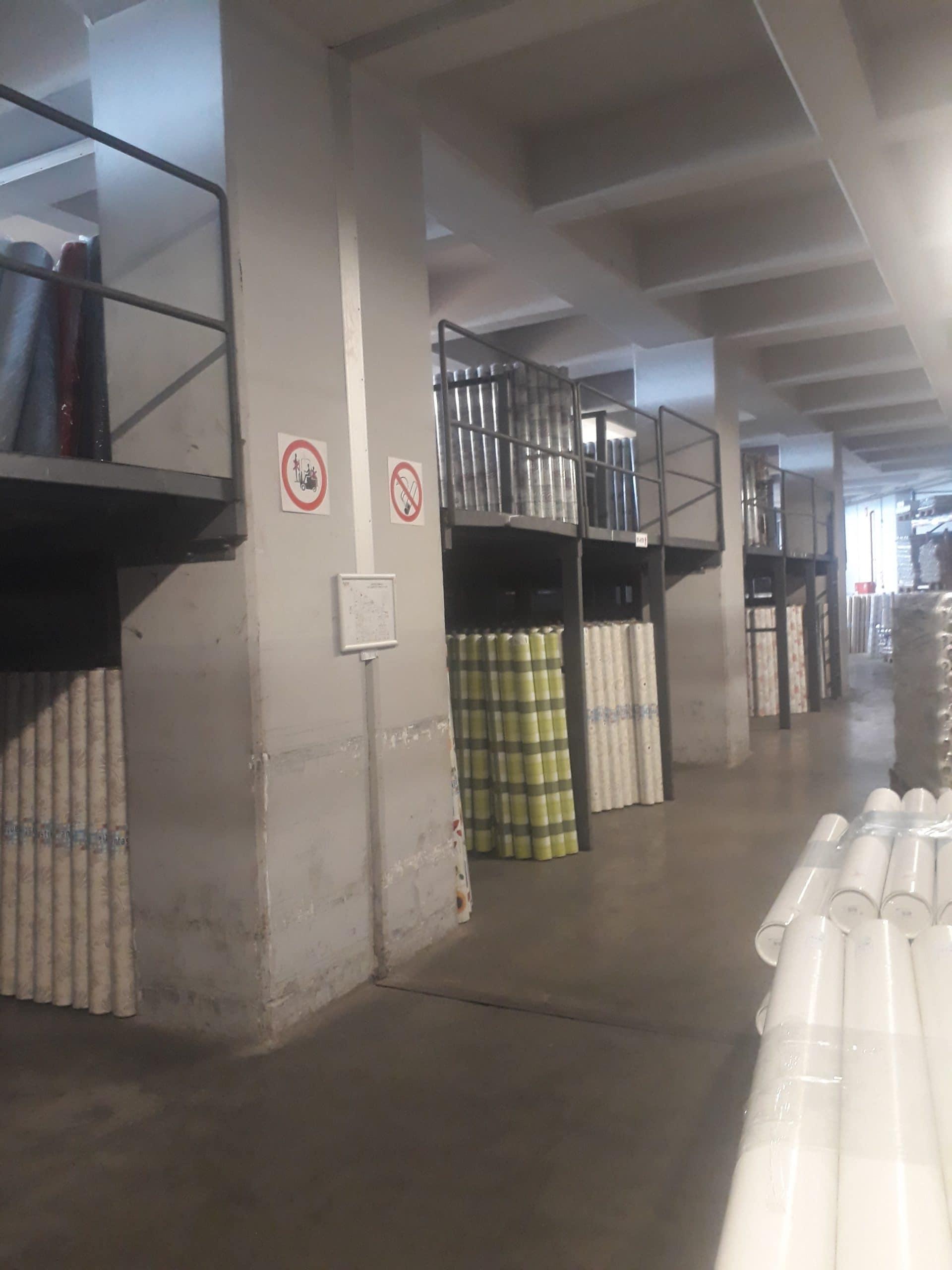 İstanbul Fabrika Yük Rafı İmalatı
